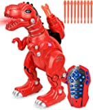 Click N' Play Remote Control Dinosaur Highly Intelligent Fire Breathing Dinosaur Robot with Loads of Features…