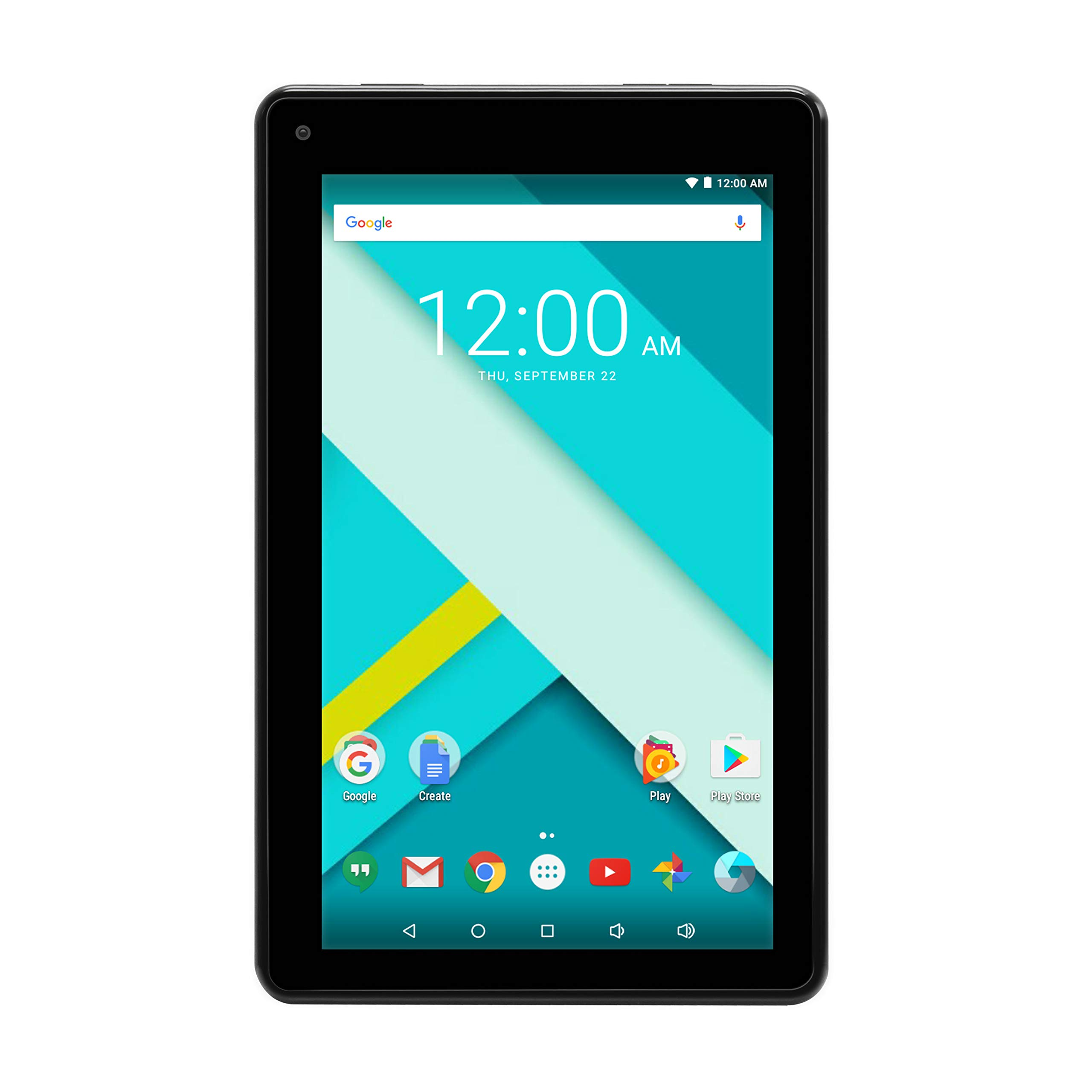 High Performance RCA 7 Inch 1GB RAM 16G Tablet MTK Quad Core Dual Camera Touch IPS Screen 1024 x 600 WiFi Bluetooth Android 7.0 Black (Renewed) by RCA