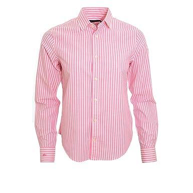 Chemisier Ralph Lauren rayé rose et blanc Sean pour femme  Amazon.fr   Vêtements et accessoires 216c3204cfd