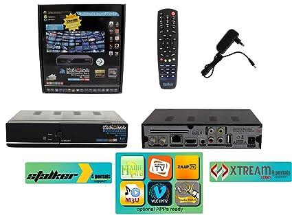ml1200 Media Link Medi @ link IPTV Receptor Satélite Full HD con lector de tarjeta/
