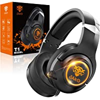 JAKO Gaming Headset for PS4 Xbox One Playstation 4 and Nintendo Switch, Noise Cancelling Over Ear Headphones with Mic…