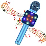 BlueFire Wireless Bluetooth Karaoke Microphone 5 in 1 Handheld Karaoke Microphone Portable Bluetooth Speaker Home KTV…