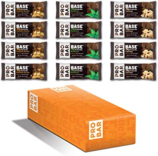 product image for PROBAR - Base 2.46 Oz Protein Bar, Variety Pack, 12 Count - Gluten-Free, Plant-Based Whole Food Ingredients (Discontinued)
