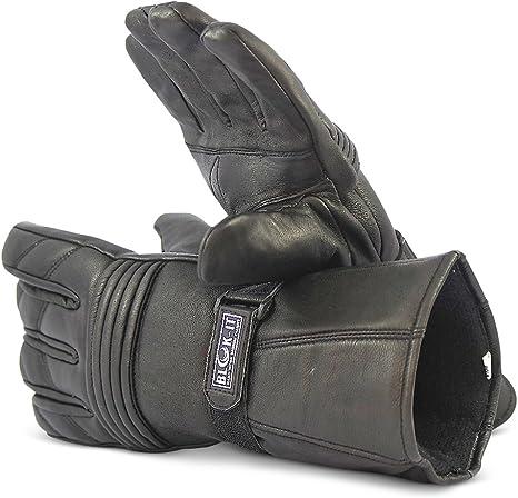 Blok-iT Guanti da Motocicletta Completi Guanti Sono Fatte in Materiale Termico 3M Thinsulate Motociclisti /& Motorbiker per Ciclisti