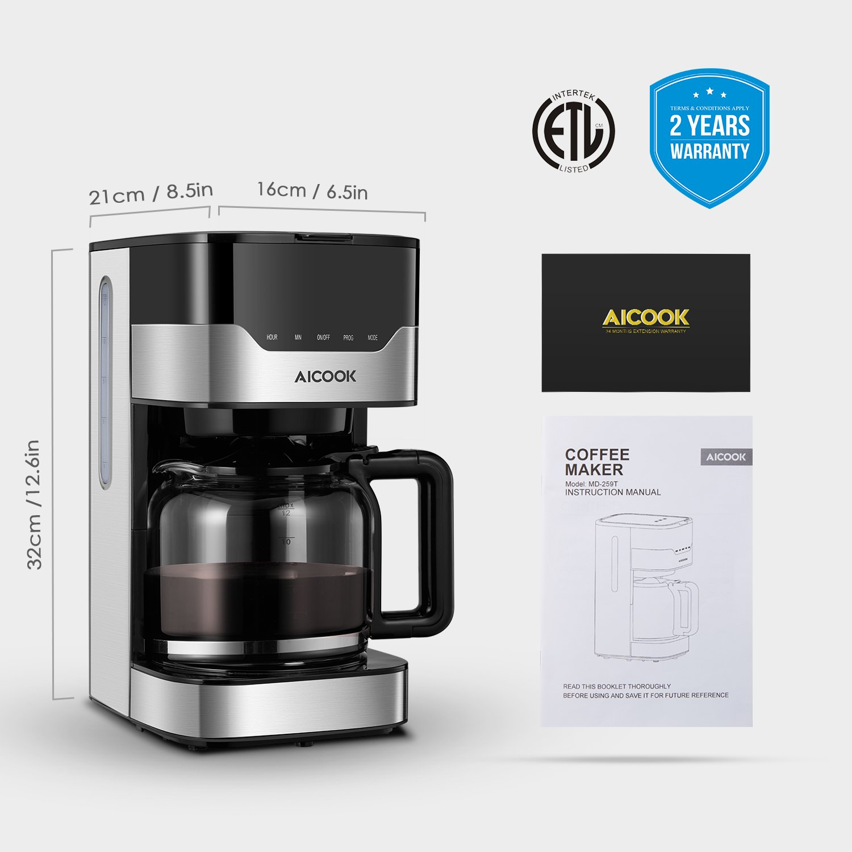 AICOOK Máquina de Café: Amazon.es: Hogar