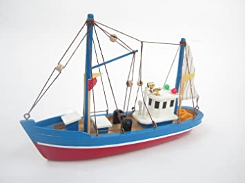Blue Dolphin Starter Boat Kit: Build Your Own Fishing Boat Wooden ...