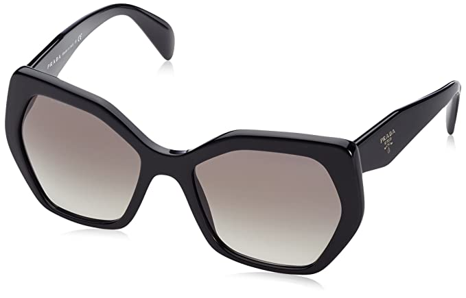 5d5e56dd1c8b PRADA Women s 16RS 0Pr16Rs 1Ab0A7 56 Sunglasses Black Gradient  Prada   Amazon.co.uk  Clothing