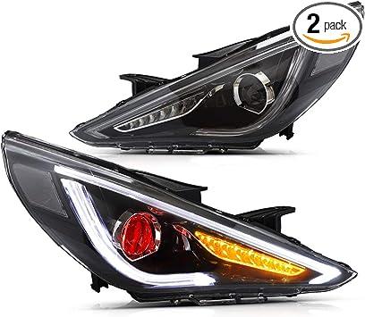 Amazon Com Yuanzheng Led Projector Headlights For Hyundai