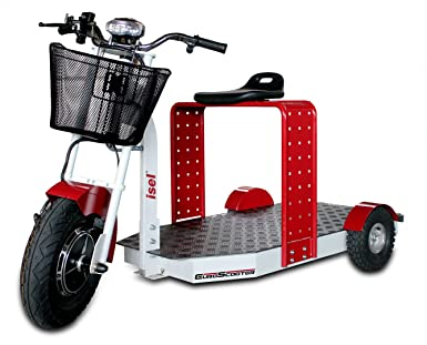 EuroScooter ES 175, moto eléctrica, moto de tres ruedas, 1000 W/60