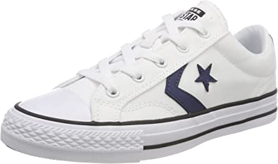 converse homme star player blanche