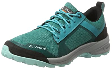 Vaude Damen Women's Tvl Active STX Trekking-& Wanderhalbschuhe, Türkis (Reef), 40.5 EU