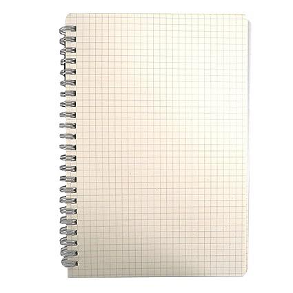 Millya A5 cuaderno de espiral diario Agenda de espiral doble ...