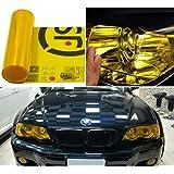 Gelbe Folie Nebelscheinwerfer Folierung Autoscheinwerfer T/önung