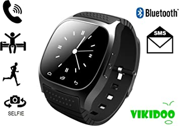 M26 SmartWatch con pantalla táctil, Bluetooth, reloj con manos ...