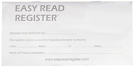 register checkbook