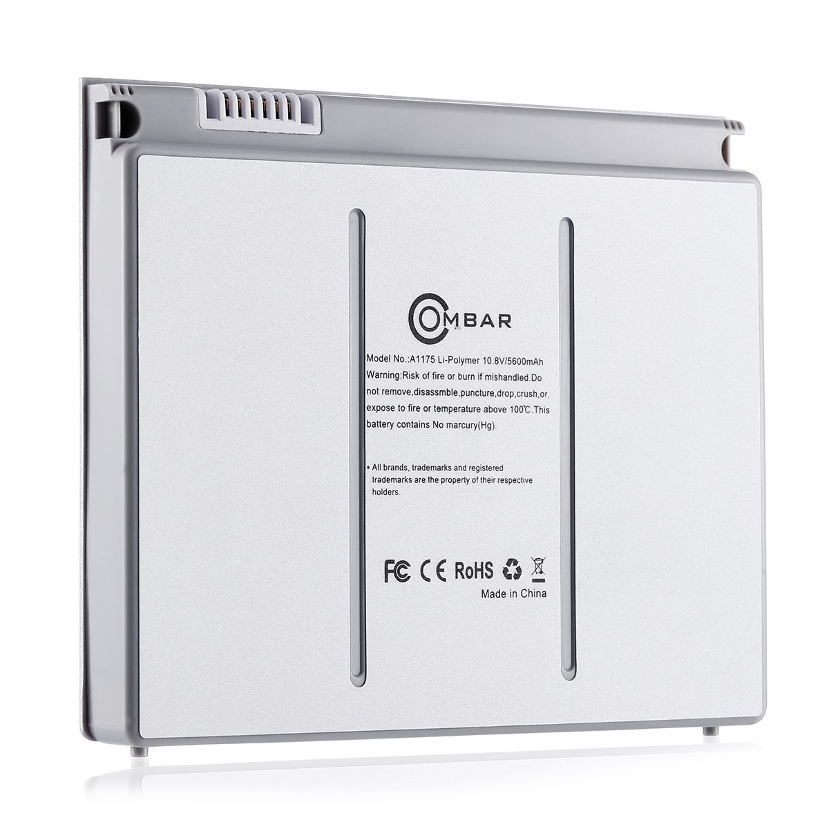 OMBAR New Replacement Li-polymer Battery for Apple MacBook Pro 15