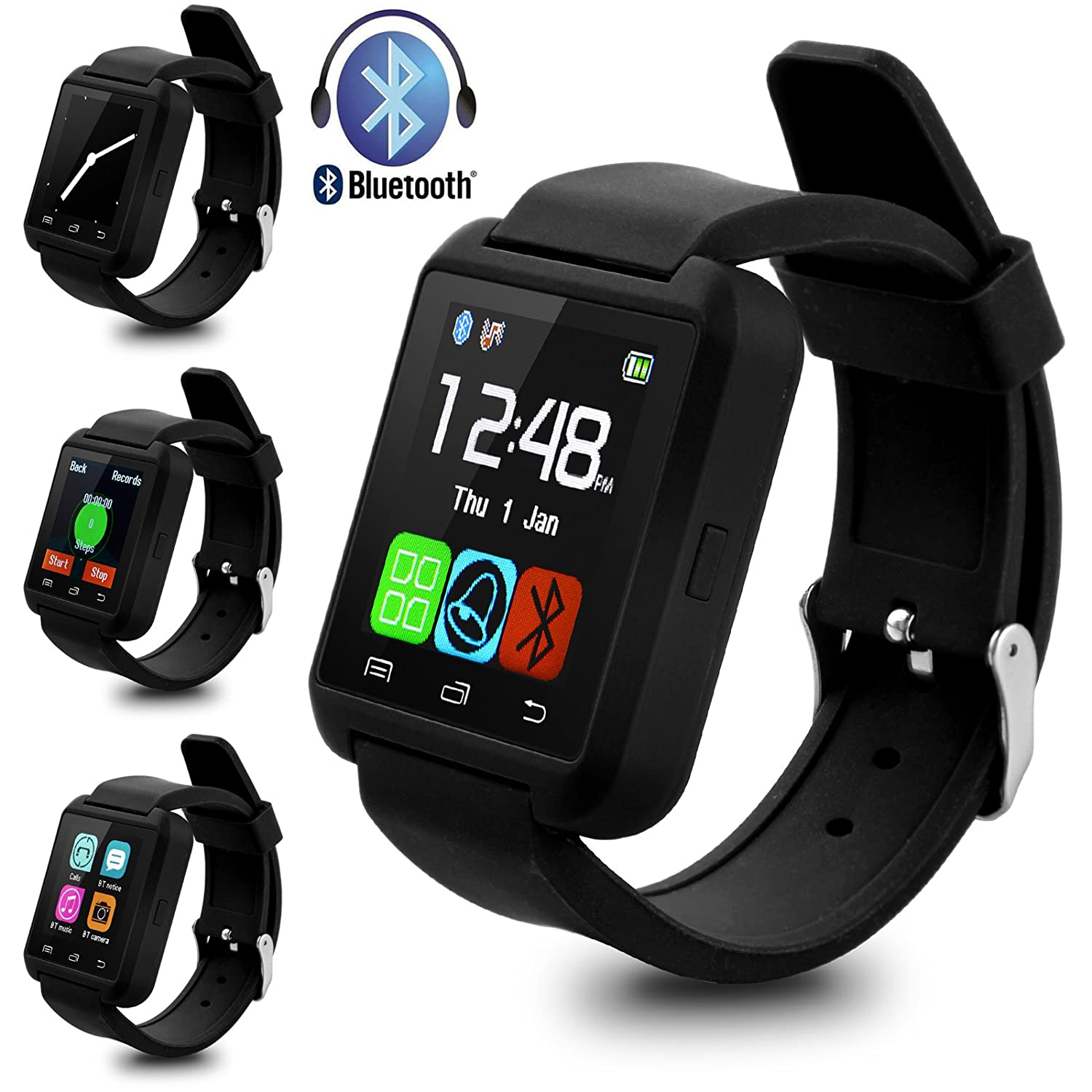 Swees U8 Bluetooth Smart Watch Inteligente Reloj Teléfono ...