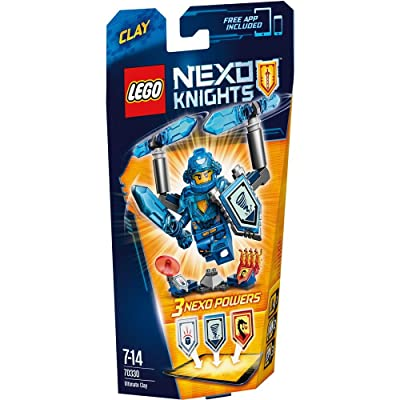 LEGO Nexo Knights Clay (70330) [KLOCKI]: Toys & Games