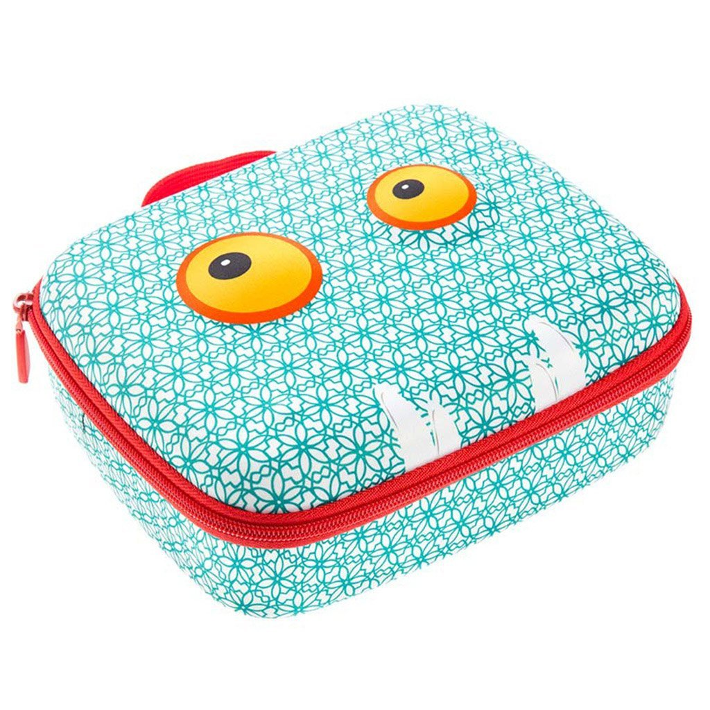 ZIPIT Beast Lunch Box, Blue ZIPIT USA Inc. (Office) ZBB-LB-BP