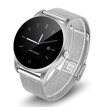 Diggro K88H - Smartwatch Reloj Pulsera Deportiva (Ritmo Cardiaco, Podómetro, Recordatorio Llamada SMS, Recordatorio Sedentaria, Monitor del Sueño), ...