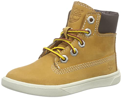 Timberland Groveton Leather Bottes Chukka Mixte Enfant