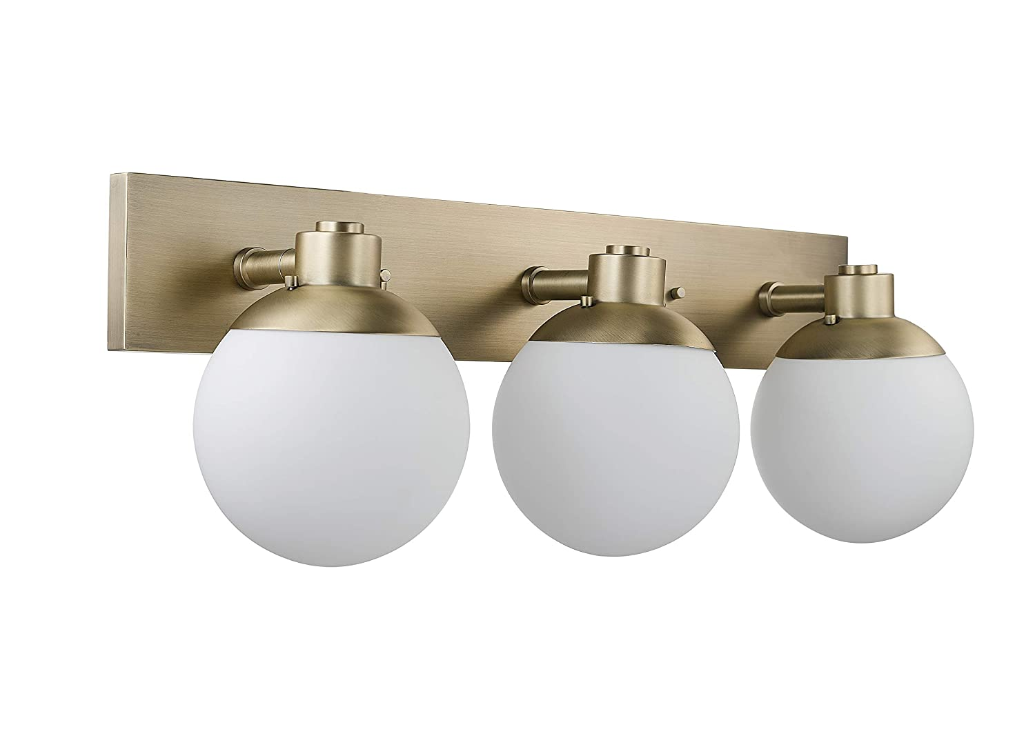 Rivet Modern Wall Sconce, 10 H, Brass