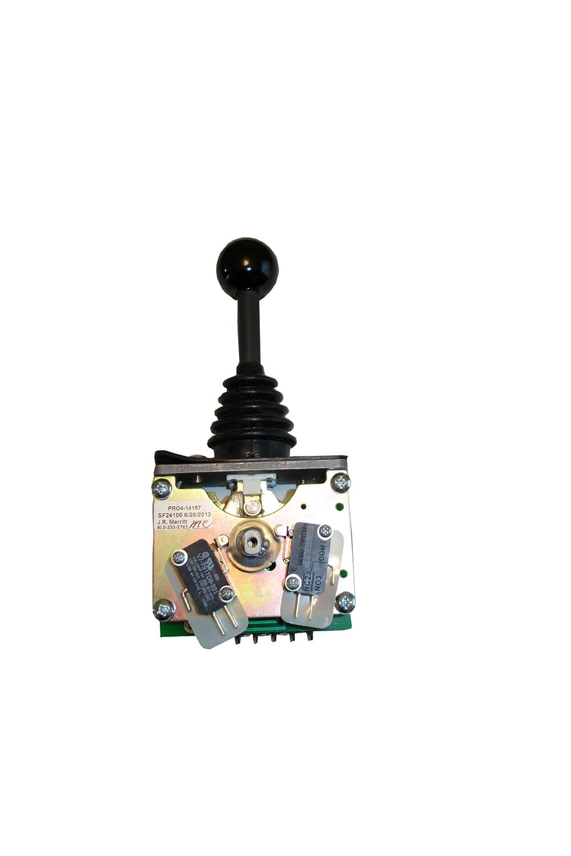 MerrittジョイスティックPro - 4 single-axisスロットル制御0 – 5 K   B00JRJ4UPG