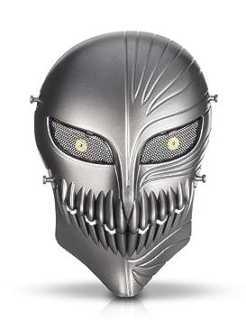 HanLuckyStars Máscara Táctica Protectora para Airsoft Máscara de Esqueleto para Airsoft / Paintball / BB pistola