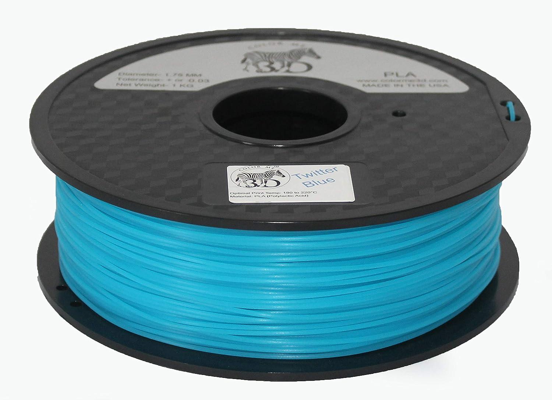 Colorme3D - Filamento de impresora 3D, color azul, PLA-1KG (2,2 ...