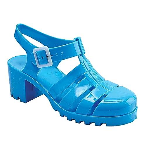 New Women Summer Retro Jelly Slingback Sandals