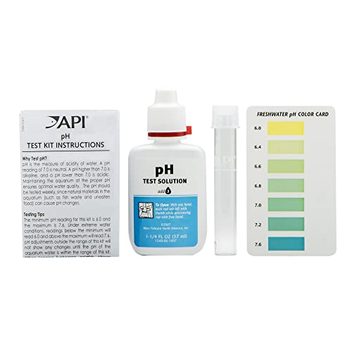 API pH test kit components