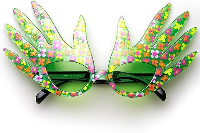 Forma de mano de protección para los dedos Color diseño de gafas ...