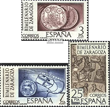 Prophila Collection España Michel.-No..: 2212-2214 (Completa.edición.) 1976 2000 años Zaragoza (Sellos para los coleccionistas) Moneda en Sello: Amazon.es: Juguetes y juegos