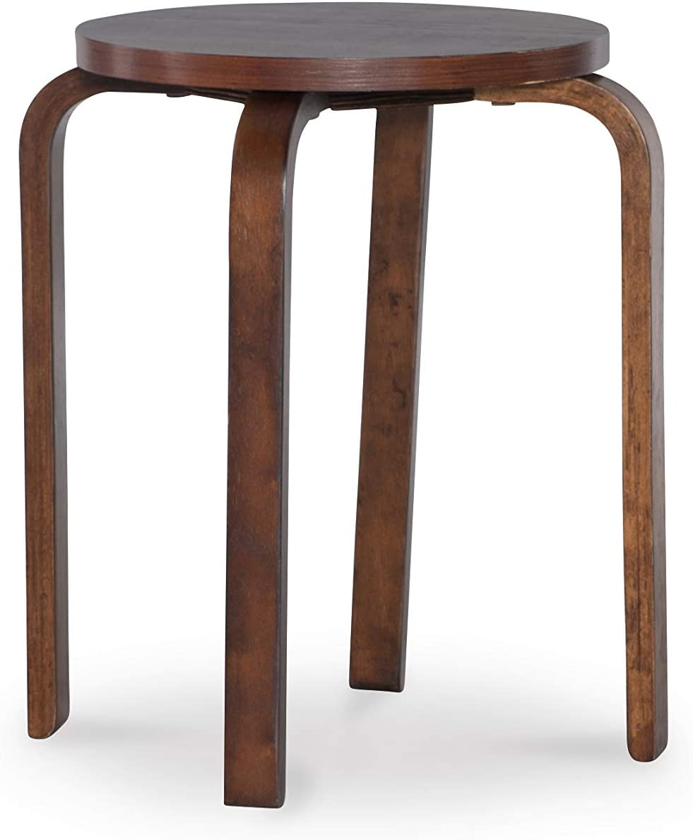 Linon Home Decor Stacking Stool, Wenge