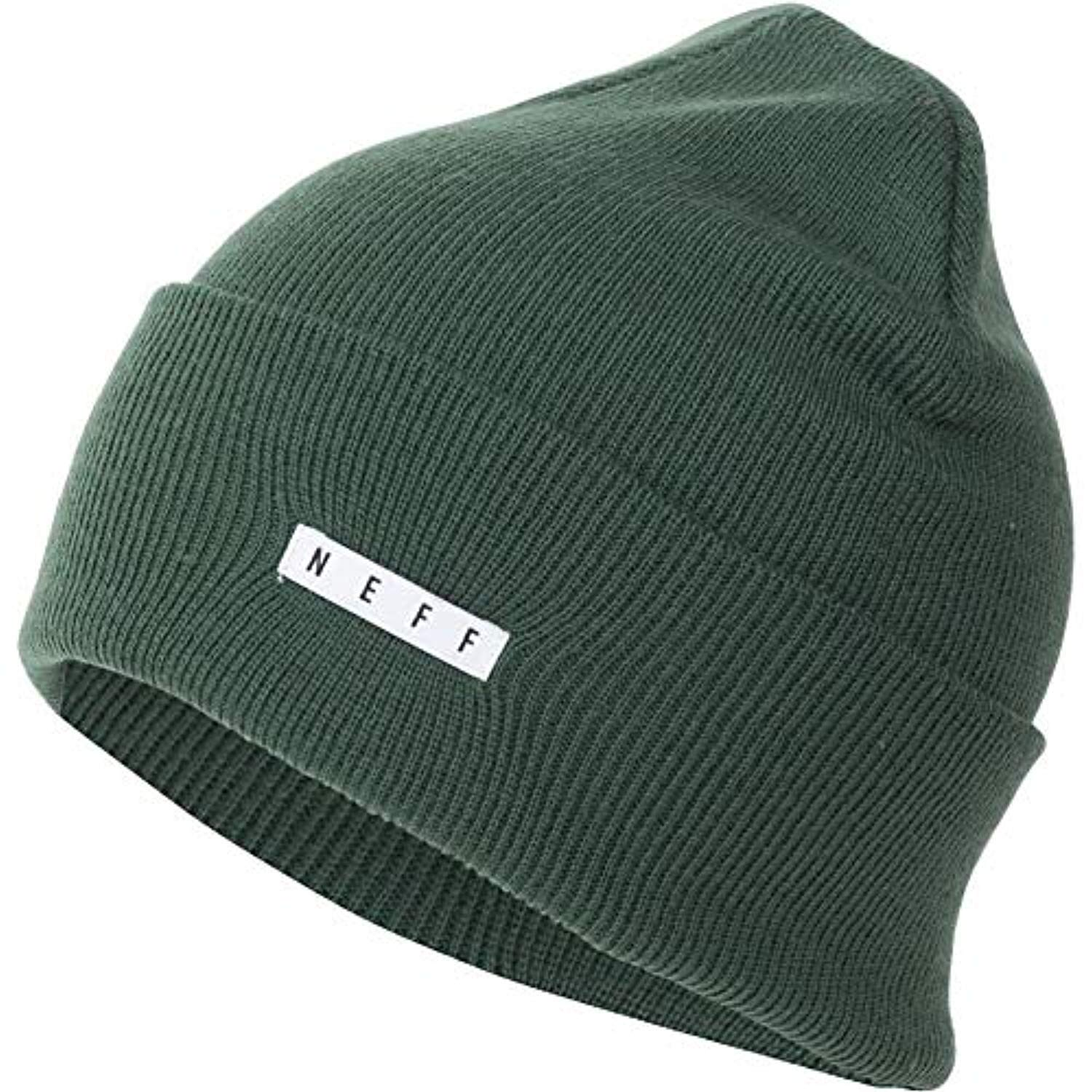 12bbc99bdac NEFF Men s Lawrence Beanie Black One Size Neff Young Men s NF00028 ...