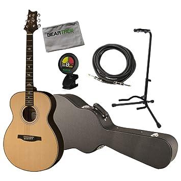 PRS SE T40E SE Tonare Grand T-40E - Guitarra acústica eléctrica con funda, cable, soporte, gamuza y sintonizador: Amazon.es: Instrumentos musicales