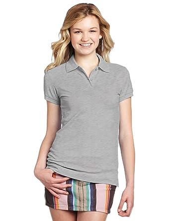 ec16043b8 Dickies Juniors Short Sleeve Pique Polo Shirt (3XL, Heather): Amazon ...