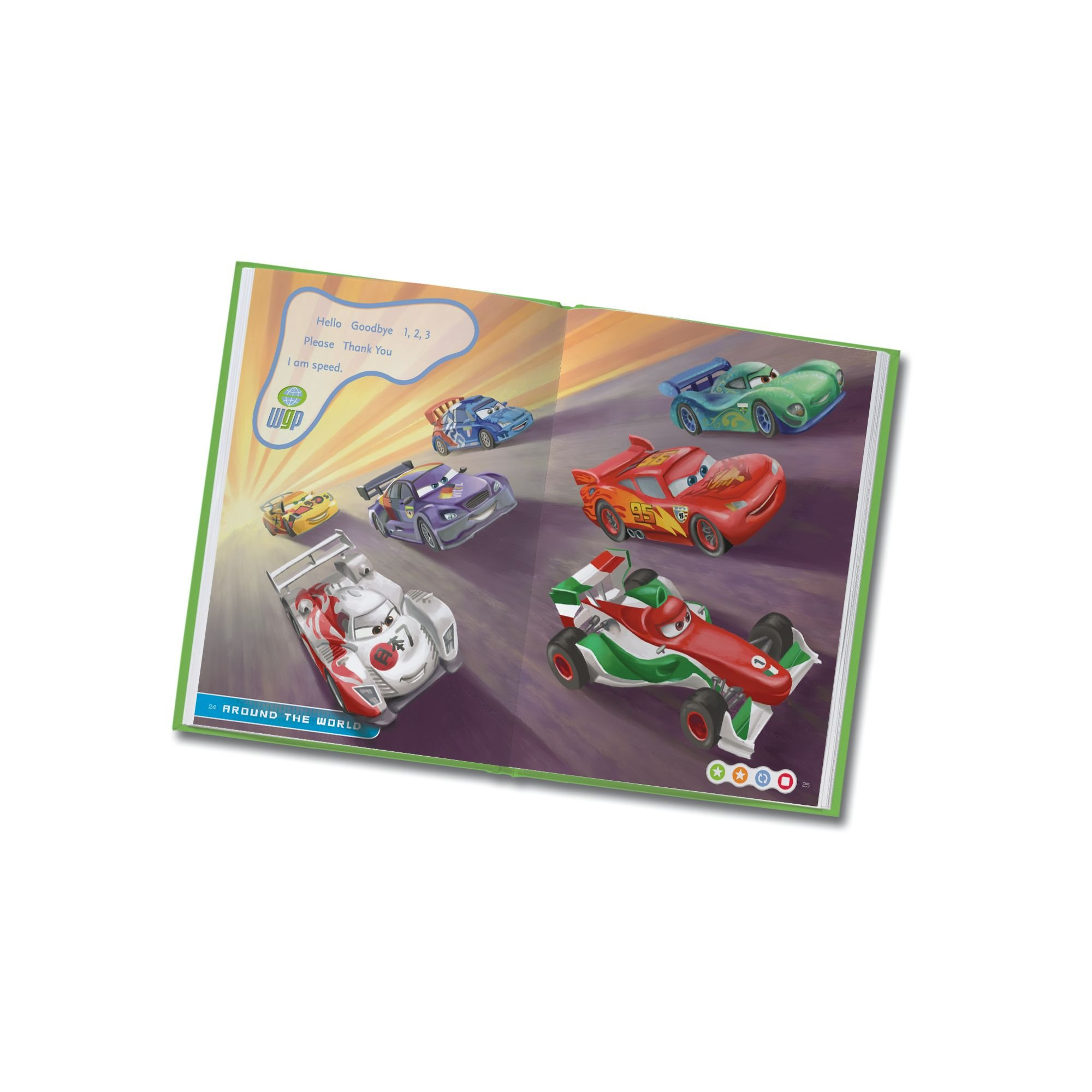 LeapFrog LeapReader Book: Disney/Pixar Cars 2: Project Undercover (works with Tag) by LeapFrog (Image #3)