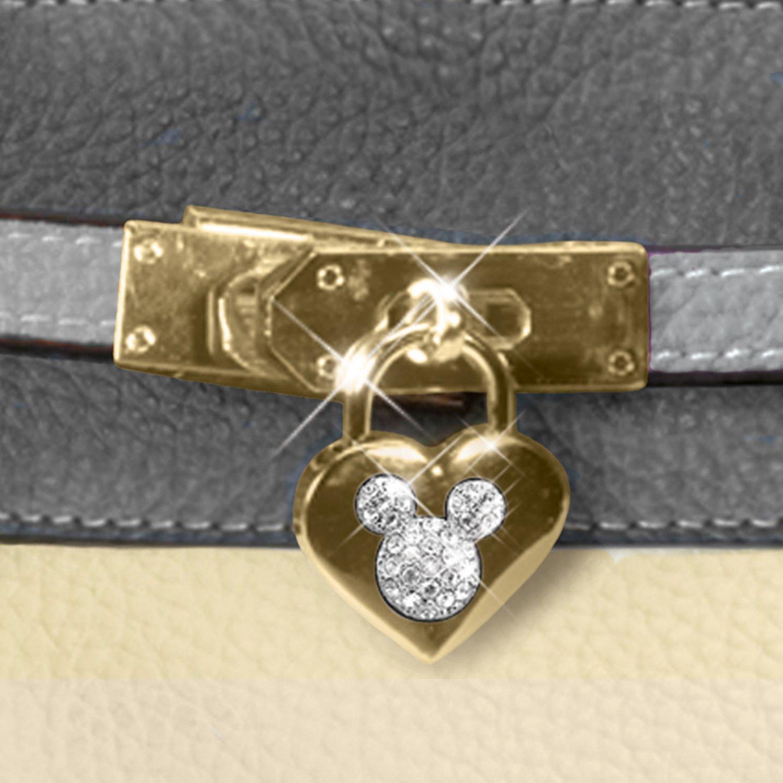 Handbag: Disney Mickey And Minnie Love Story Handbag by The ...