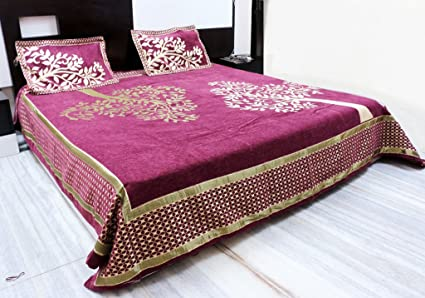 Moby Care Shaneel And Velvet Bedsheets