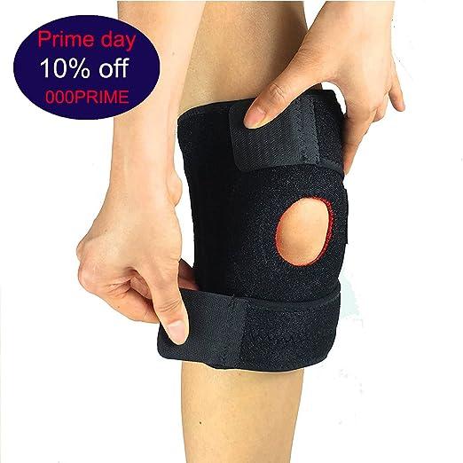 5 opinioni per Supporto per ginocchio, Piede regolabile con velcro Brace Rotula rotula e