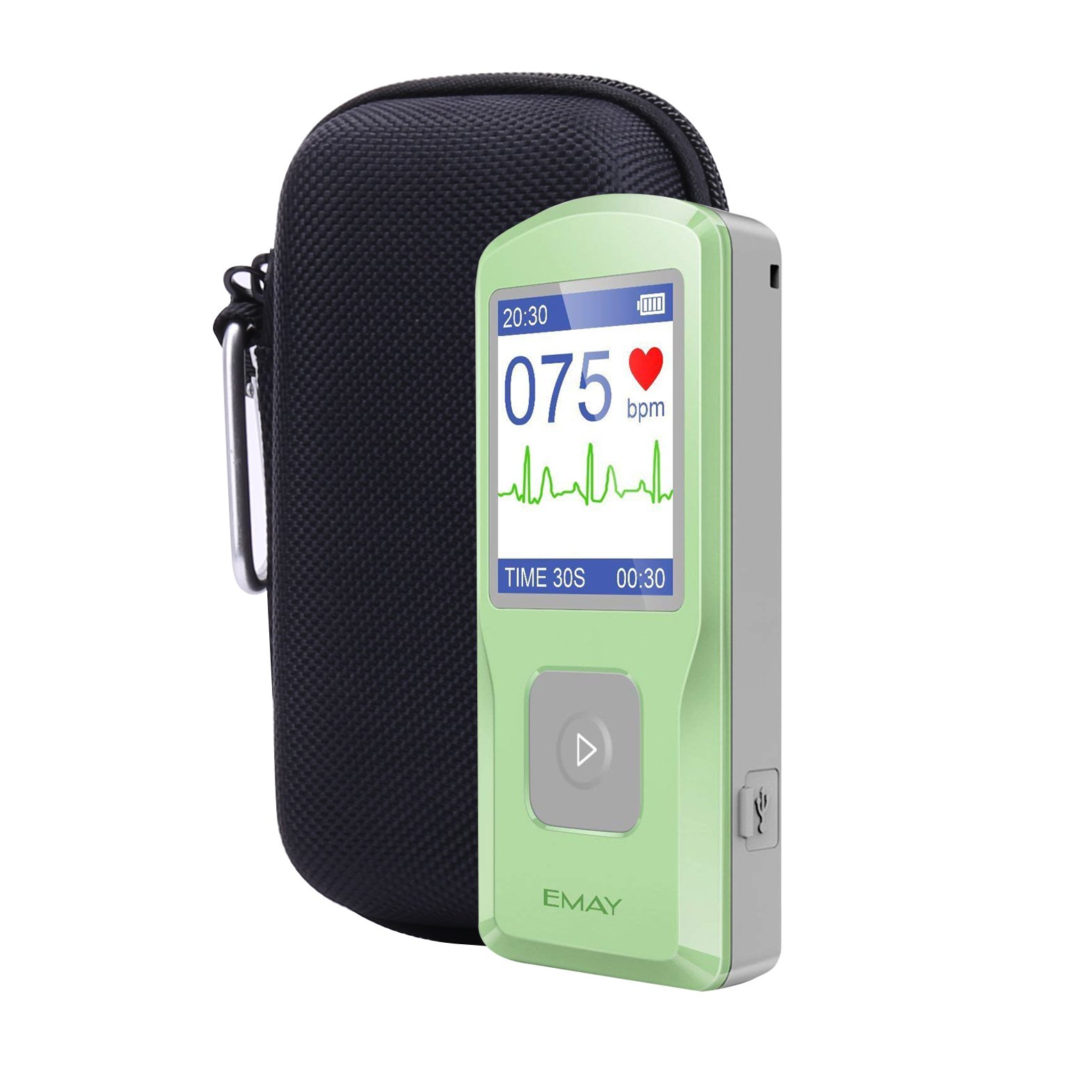 Aenllosi Hard Case for Emay Handheld ECG/EKG Monitor with Pill Organizer by by Aenllosi (Image #1)