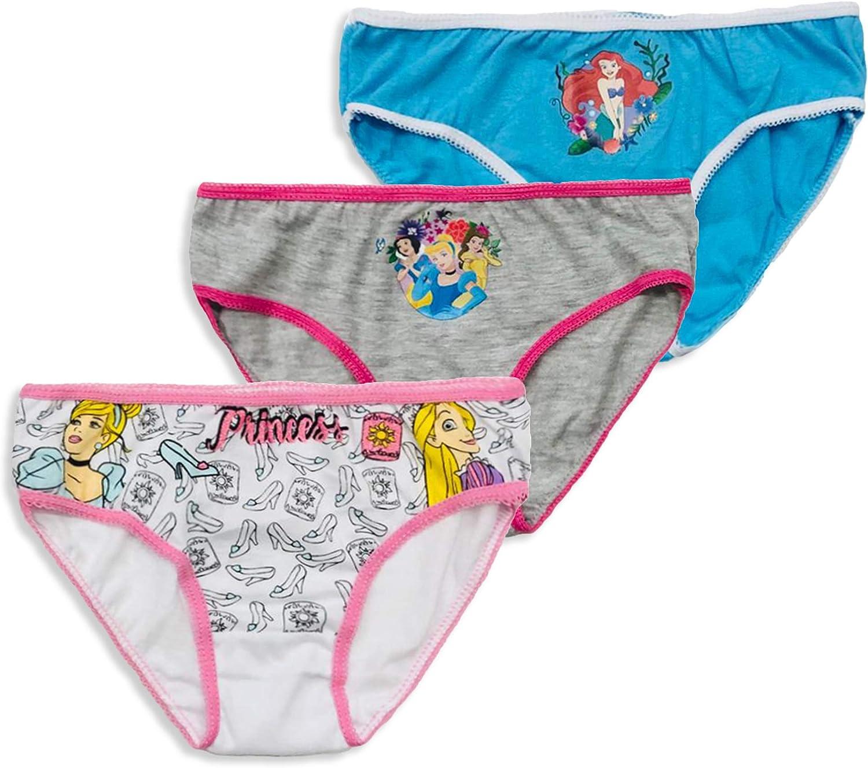 Disney Princess 3 Braguitas para niña princesa originales y ...