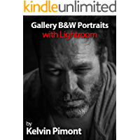 Gallery B&W Portraits with Lightroom book cover