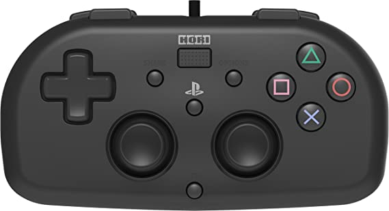 Hori - Mando Mini Con Cable, Color Negro (PS4)