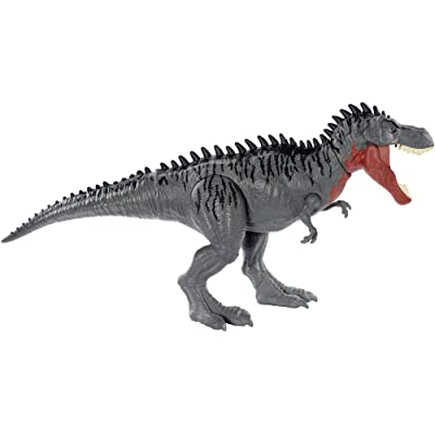 Jurassic World Toys GJP33 Massive Biters Larger-Sized Dinosaur Action Figure, Tarbosaurus, Multi: Toys & Games
