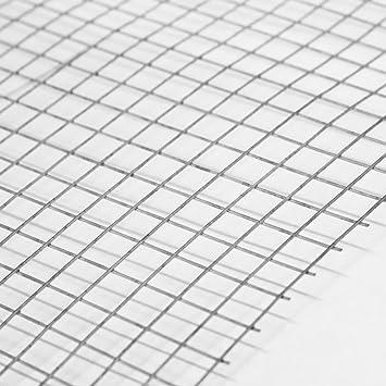 5 Pack of 3ftx2ft Welded Mesh Panels  25mmx25mm (1