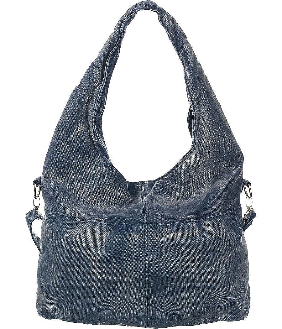 Amazon.com: Denim Hobo Black Oversized Slouchy Shoulder Bag: Shoes