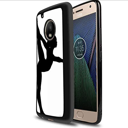 Amazon.com: Soft Phone Case for Motorola Moto G5 Plus (2017 ...