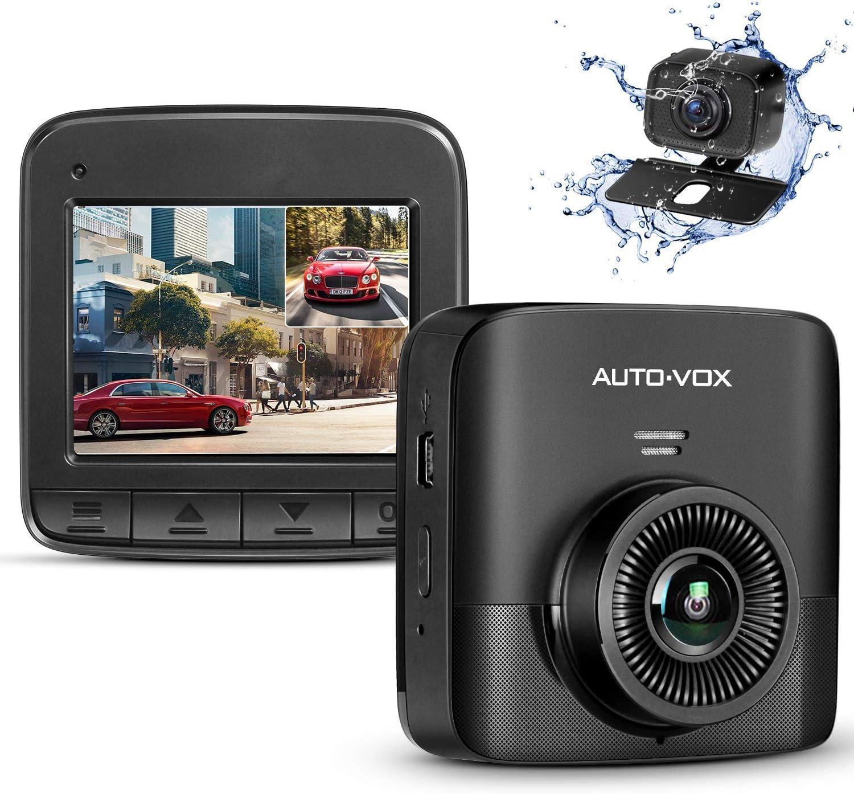 Amazon.com: AUTO-VOX D5PRO Dual Dash Cam Front and Rear, 1520P Car